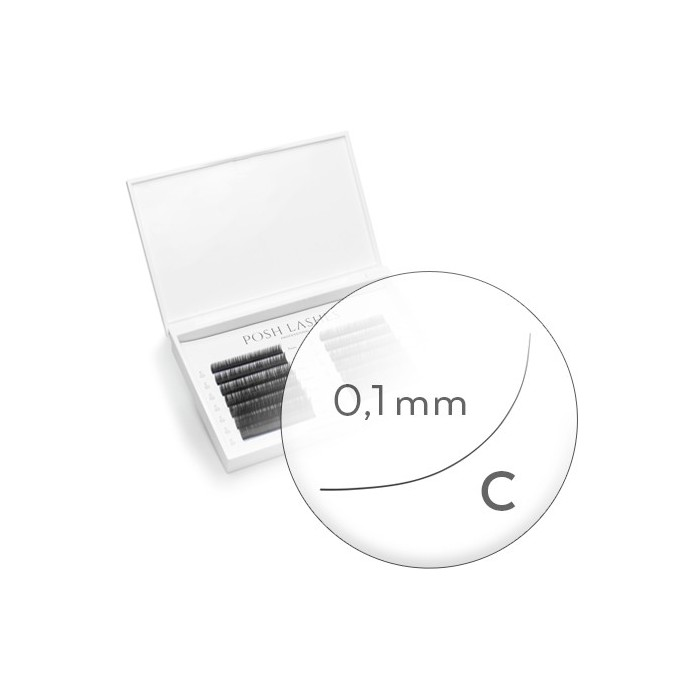 Silk, Black, C, 0.1 11mm / duża paletka