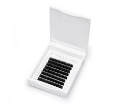 Rzęsy objętościowe SILK, Black, C, 0.07 11mm / mała paletka