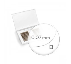 Business Line, Brown, B, 0.07, 4mm, 5mm, 6mm, 7mm Indigo