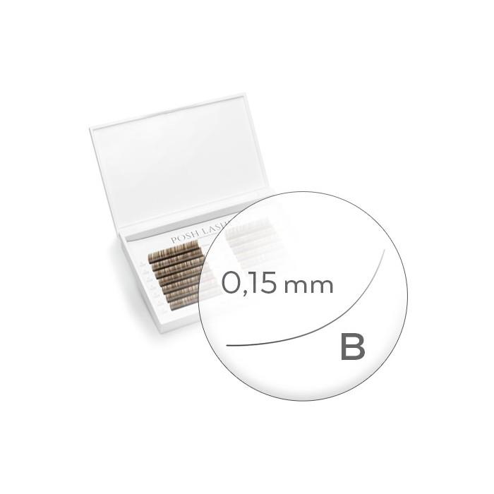 Business Line, Brown, B, 0.15, Mix od 7mm do 13mm