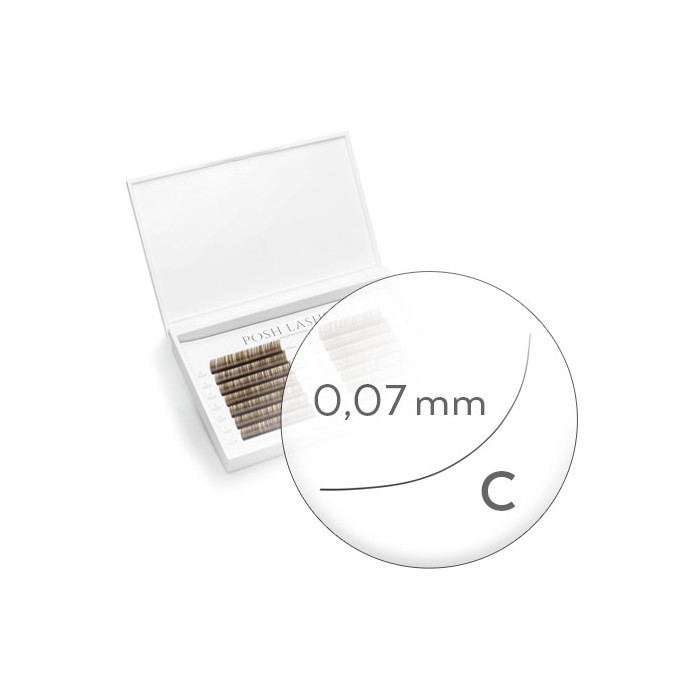 Business Line, Brown, C, 0.07, 8mm, 9mm