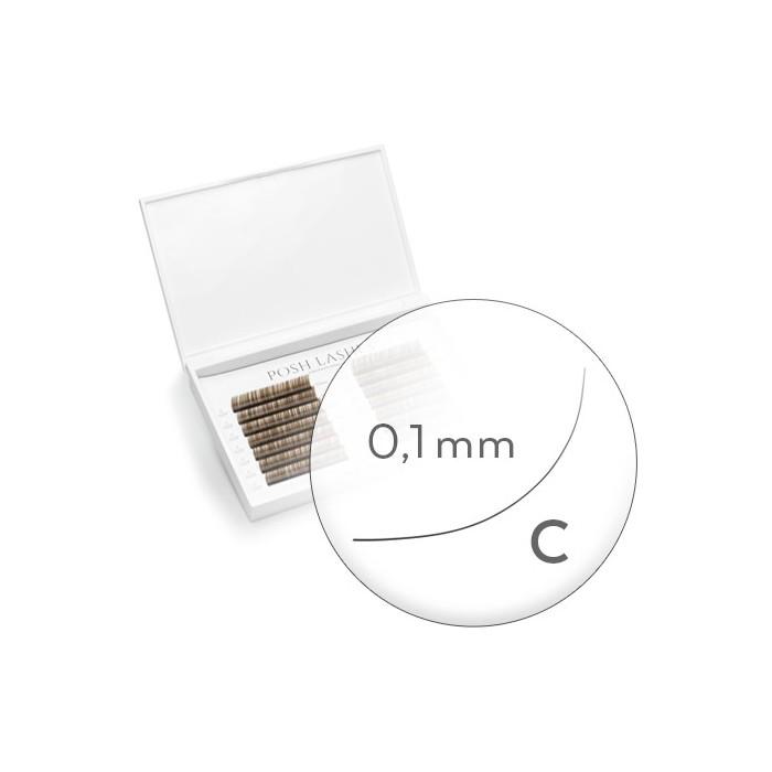 Business Line, Brown, C, 0.1, 8mm, 9mm
